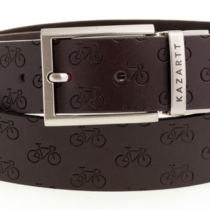 Determination Brown Leather Belt