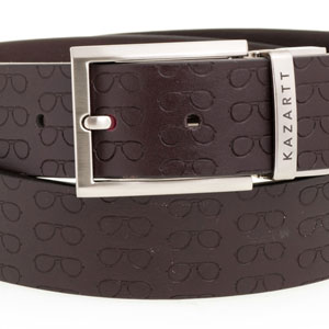 Focus Brown Leather Belt