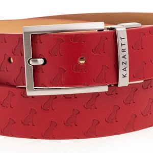 KAZARTT red leather belt