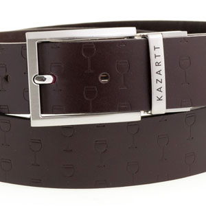 Optimism Brown Leather Belt